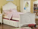 Mirabella Twin Or Full Panel Bed w/ Trundle/Storage Drawer