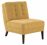 Mitchell Contemporary Armless Accent Chair