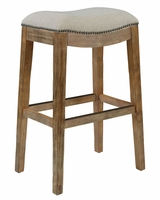 "Moore ""Ready To Ship"" Natural Fabric Bar & Counter Stool Collection"