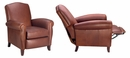 "Newport ""Designer Style"" Leather Recliner"