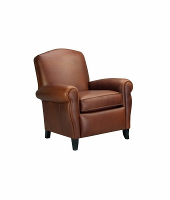 "Newport ""Designer Style"" Retro Leather Club Chair"