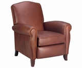 Newport Tall Back Traditional Leather Recliner