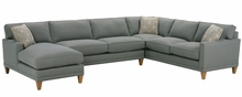 Nicole Fabric Upholstered Sectional