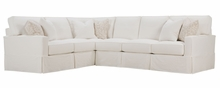 Noelle Slipcovered Track Arm Sectional COMING SOON!