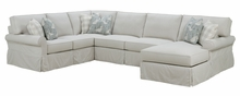 Noreen Oversized Comfort Slipcover Sectional
