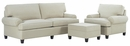 Olivia Fabric Upholstered Sofa Set