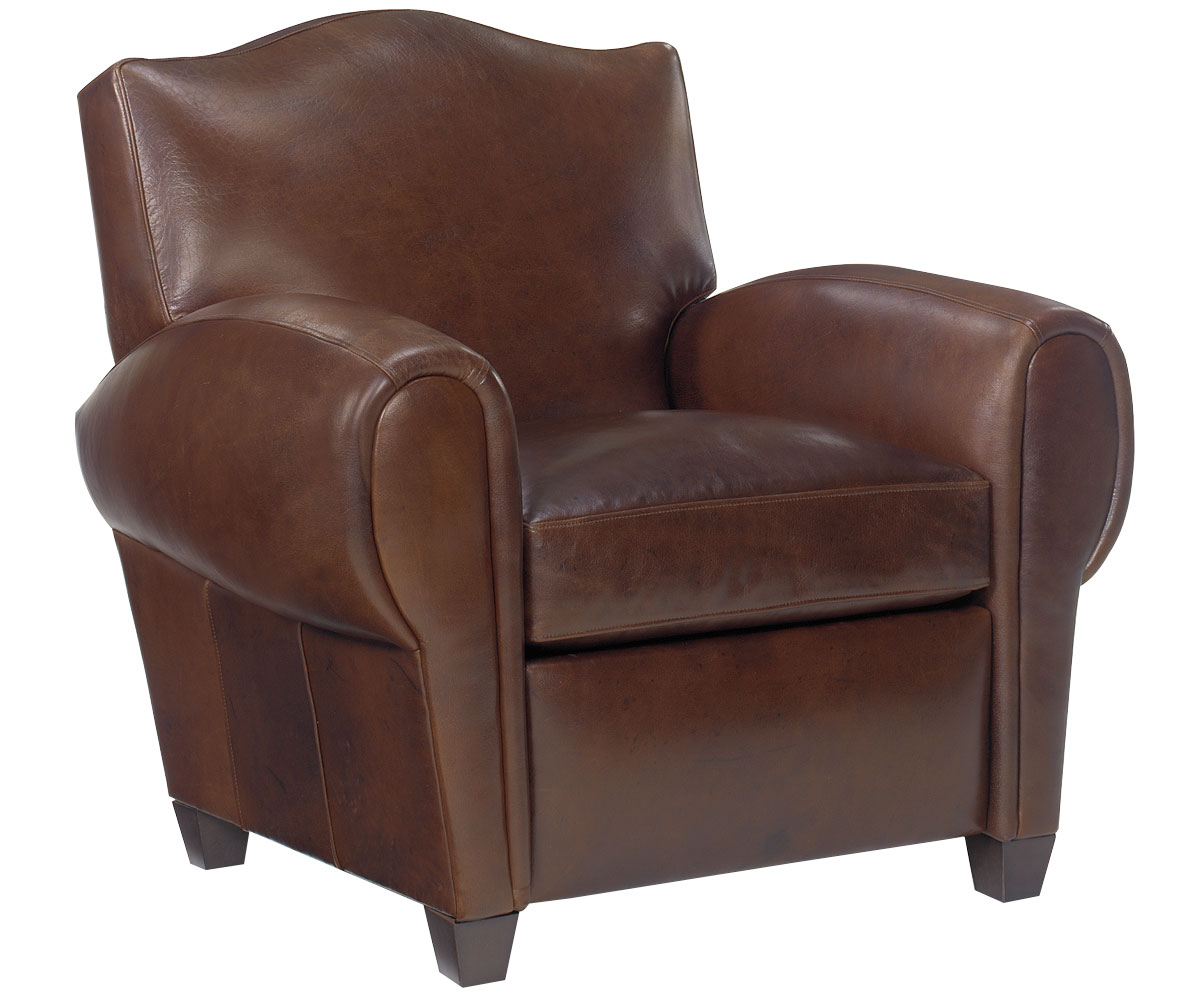 Paris Style Leather Recliner Club Chair – Leather Recliner Club Chairs
