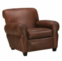 Parker Leather Club Chair