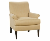 Nellie Traditional Fabric Accent Chair