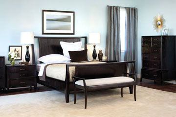 Pearce Wood Bedroom Furniture Collection