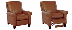 Perry Leather Recliner Armchair