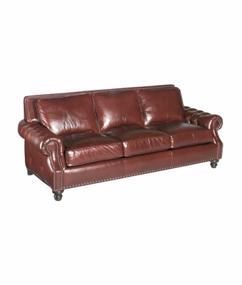 "Richardson ""Designer Style"" Grand Scale Tufted Arm Sofa"