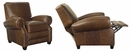 "Richmond ""Designer Style"" Large Leather Club Style Recliner"
