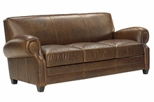 Richmond Large Leather Queen Sofa Bed