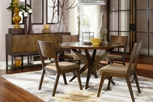 Kipton Contemporary Round Casual Dining Collection