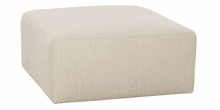 Rowley Fully Upholstered Oversized Fabric Ottoman