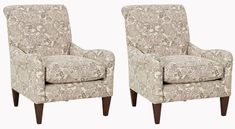 Tight Back English Arm Accent Chair In Fabric Club Furniture