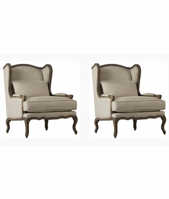 "Set 2 Valentina ""Quick Ship"" Accent Chairs"