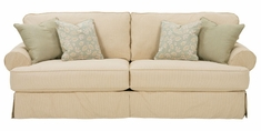 "Sidney ""Designer Style"" Slipcovered Grand Scale Sofa"