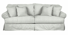 "Sidney ""Grand Scale"" Oversized Slipcovered Sofa"