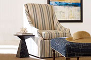 Slipcovered Accent Chairs And Chaises