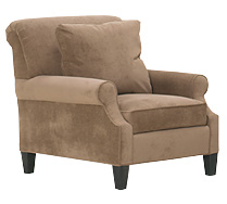 Sophia Fabric Upholstered Chair