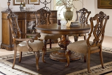 Stanbury Traditional Round To Oval Fine Dining Set