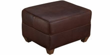 Standard Leather Or Fabric Footstool Ottoman