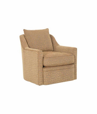 Contemporary upholstered swivel accent chair club furniture