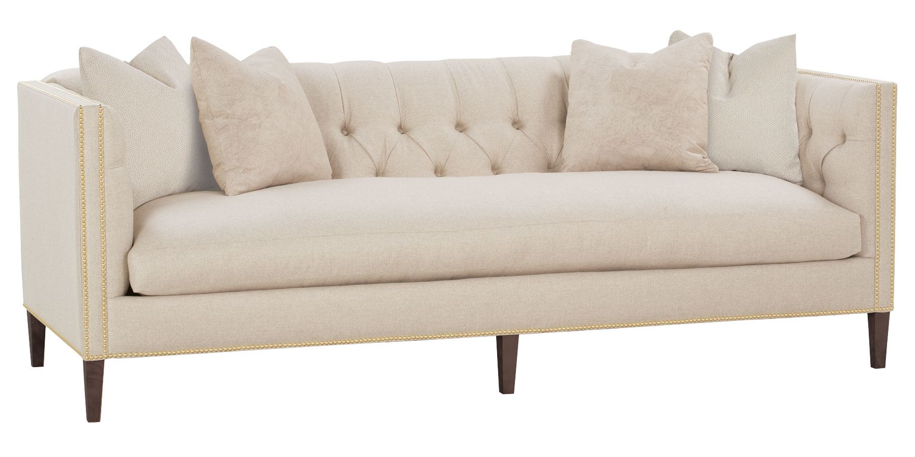 Upholstered Tight Back Single Seat Sofa Collection