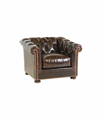 "Thurston ""Designer Style"" Chesterfield Style Tufted Club Chair"