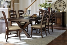 Norwich Casual Trestle Table Dining Set
