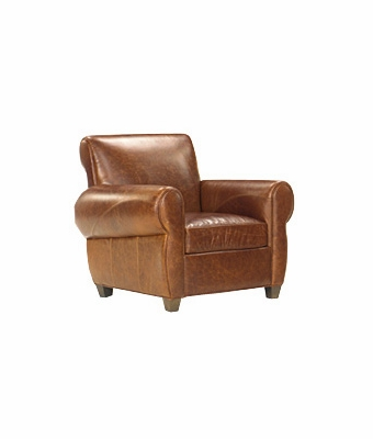 "Tribeca ""Designer Style"" Leather Club Chair"