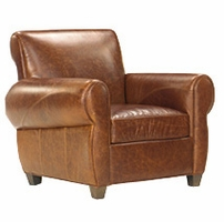 Tribeca Leather Club Chair