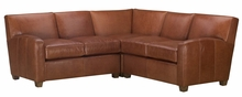 Tuscany Contemporary Leather Sectional Sofa