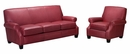 "Tyler ""Designer Style"" Leather Full Sleeper & Recliner Set"