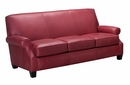 "Tyler ""Designer Style"" Leather Full Sleeper Sofa"