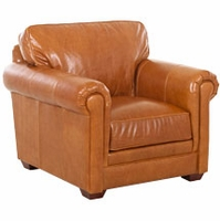 Wayne Traditional Leather Chair