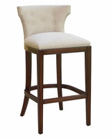 "Wells ""Ready To Ship"" Low Back Fabric Counter & Bar Stool Collection"