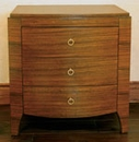Wendell Collection 3 Drawer Nightstand