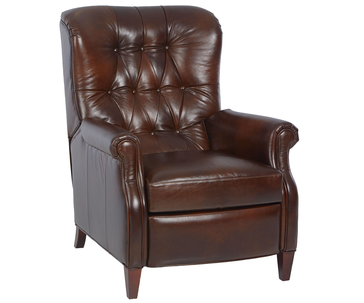 Wentworth Narrow Tufted Leather Recliner Leather Recliners