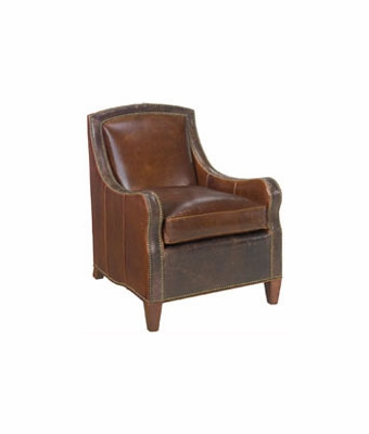 "Wilbur ""Designer Style"" Traditional Upholstered Club Accent Chair"