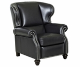 Windsor Leather Wingback Recliner