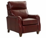 Zane English Arm Leather Recliner