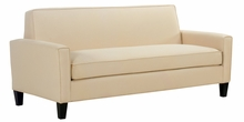 Zoe Contemporary Bench Seat Fabric Upholstered Collection