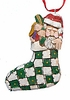 Stocking Christmas Tree Ornament