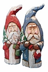 Hand Carved Old World Santa Claus