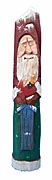 Pencil Santa Claus with Birdhouse #15002