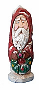 Robed Old World Santa Claus with Wreath #15080