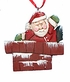 Folkart Santa Claus Ornament